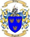 Bibby Family Crest from England