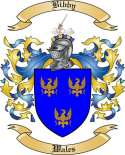 Bibby Family Crest from Wales