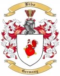 Bibo Family Crest from Germany