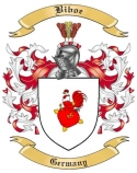 Biboe Family Crest from Germany