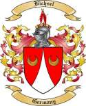 Bichsel Family Crest from Germany