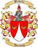 Bichsler Family Crest from Germany
