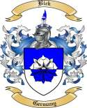 Bick Family Crest from Germany