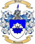 Bickel Family Crest from Germany