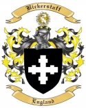 Bickerstaff Family Crest from England