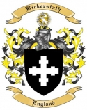 Bickerstath Family Crest from England
