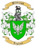 Biddulph Family Crest from Enlgand
