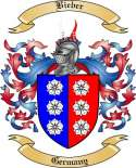 Bieber Family Crest from Germany