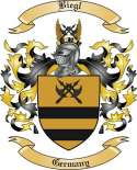 Biegl Family Crest from Germany