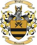 Biegler Family Crest from Germany