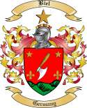 Biel Family Crest from Germany