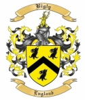 Bigly Family Crest from England