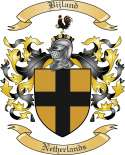 Bijland Family Crest from Netherlands
