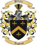 Billeter Family Crest from England