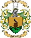 Billetter Family Crest from Switzerland