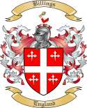 Billings Family Crest from England