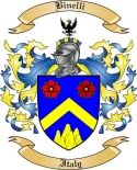 Binelli Family Crest from Italy