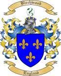 Birchwood Family Crest from England