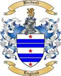 Birdsell Family Crest from England