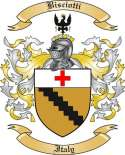 Bisciotti Family Crest from Italy2