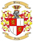 Bisco Family Crest from Italy2