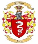 Biscotti Family Crest from Italy