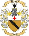 Biscotto Family Crest from Italy