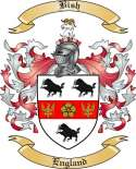Bish Family Crest from England2
