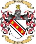 Bishopp Family Crest from England