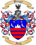 Bisogni Family Crest from Italy