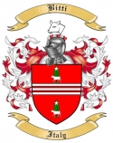 Bitti Family Crest from Italy