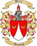 Bixler Family Crest from Germany