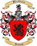 Blackburn Family Crest from Ireland