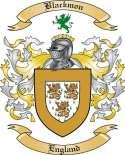 Blackmon Family Crest from England