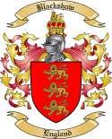 Blackshaw Family Crest from England
