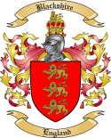 Blackshire Family Crest from England