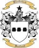 Blackstock Family Crest from Scotland
