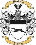 Blackville Family Crest from England