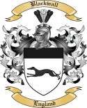 Blackwall Family Crest from England