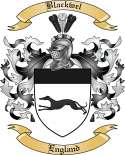 Blackwel Family Crest from England