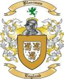 Blaecmon Family Crest from England