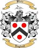 Blair Family Crest from England