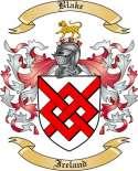 Blake Family Crest from Ireland