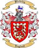 Blakeley Family Crest from England