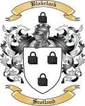 Blakelock Family Crest from Scotland