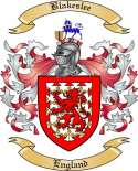 Blakeslee Family Crest from England