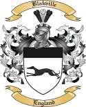 Blakville Family Crest from England