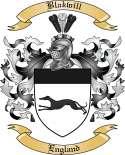 Blakwill Family Crest from England