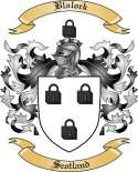 Blalock Family Crest from Scotland