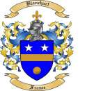 Blanchart Family Crest from France